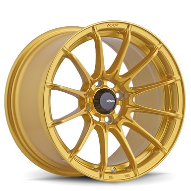 KONIG DIAL IN 15X7 4X100 ET35 Gloss Gold