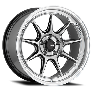 KONIG COUNTERGRAM 15x7.5 4X100 ET35 HYPER CHROME / MACHINED LIP
