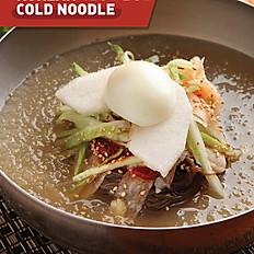 Korean Cold Noodle Soup