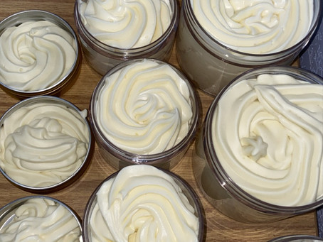 New Shea Butter Scent Has Arrived!