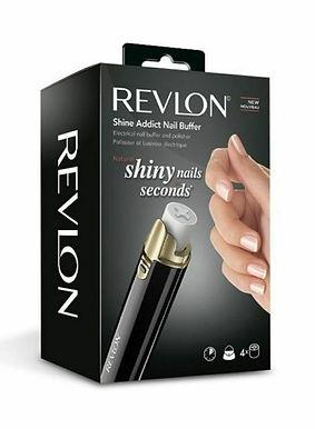 Revlon Shine Addict Compact Nail Buffer