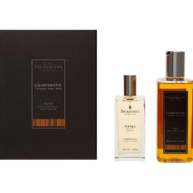 Pecksniff's England Charismatic Tarragon, Lime, Musk Mens Fragrance 2pc Gift Set