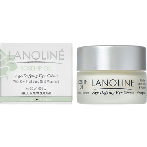 Lanoline Rosehip Oil Age Defying Eye Cream with Kiwi Fruit Seed Oil & Vitamin E