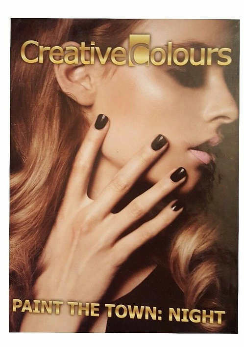 Creative Colours Paint The Town: Night Nail Polish and Glitter Nail Polish
