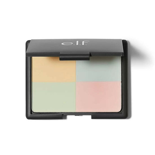 E.L.F Tone Correcting Powder - Cool 13.5g (Mirror Included)