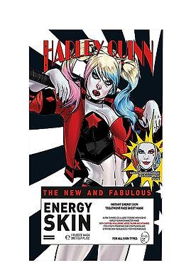 WARNER BROS - Harley Quinn The New and Fabulous Energy Skin Fleece Sheet Mask