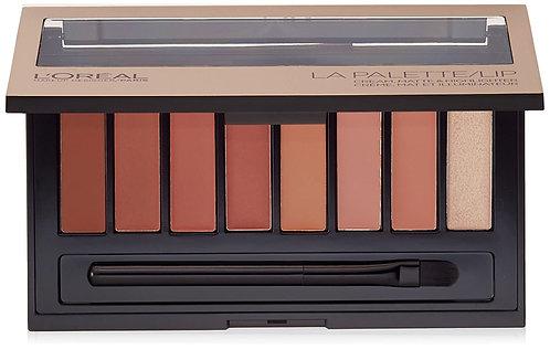 L'Oreal LA Palette/Lip Cream, Matte and Highlighter - Nude 03 4.0g