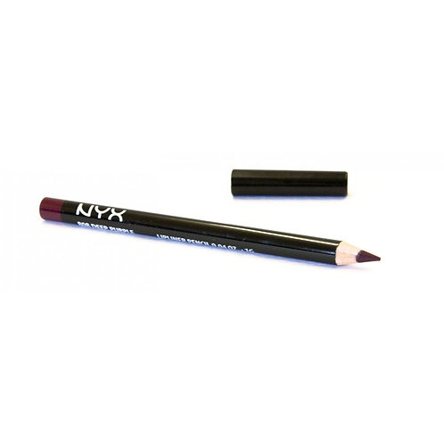 NYX Cosmetics Slim Lip Liner Pencil - SPL808 Deep Purple