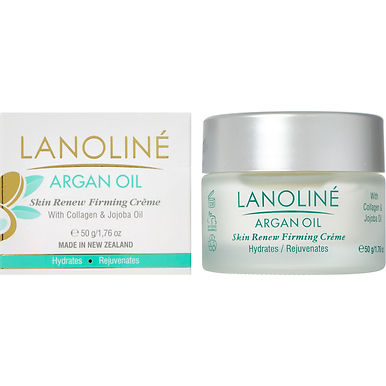 Lanoline Argan Oil Skin Renew Firming Creme with Collagen & Jojoba Oil 50g