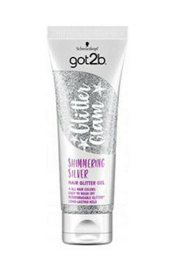 Schwarzkopf got2b Glitter Glam Shimmering Silver Hair Glitter Gel