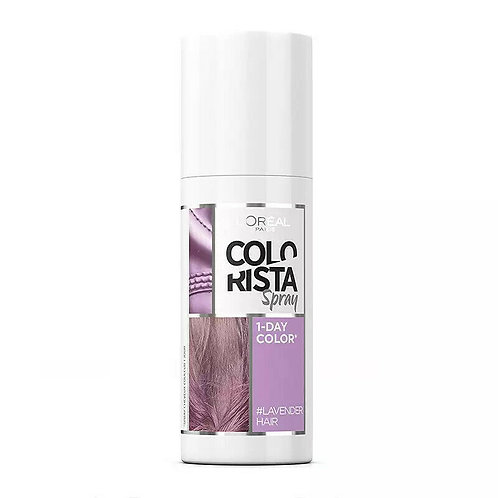 L'Oreal Colorista Lavender Spray 1 Day Colour #LAVENDERHAIR
