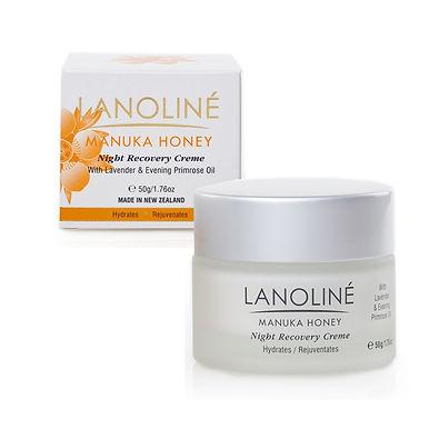 Lanoline Manuka Honey Night Recovery Creme 50g