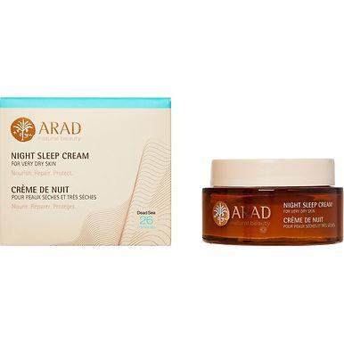 Arad Natural Beauty Night Sleep Cream For Very Dry Skin 50ml
