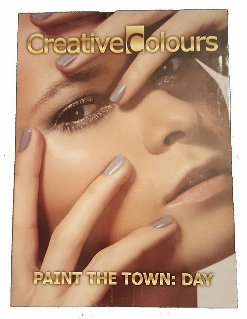Creative Colours Paint The Town: Day Nail Polish and Top Coat Gift Set