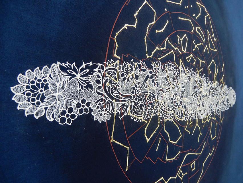 Principia-II - detail of the work.