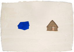 The Blue Village House.