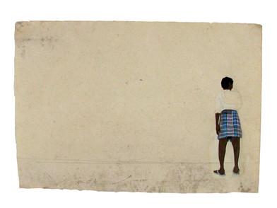 Promenade sketch III.