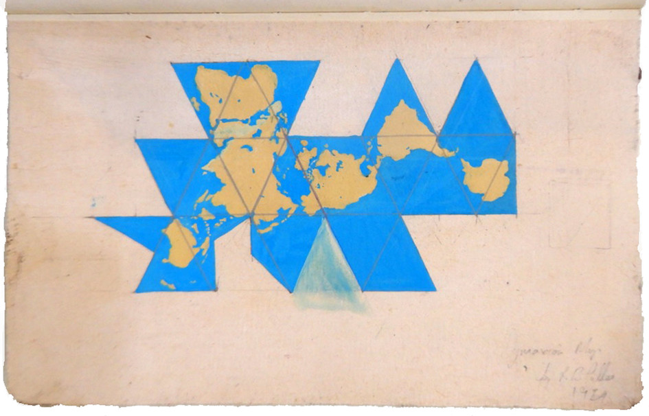 Dymaxion Map Study