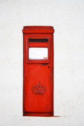Ten objects or more - Post boxes Scotland-Pondicherry detail II.