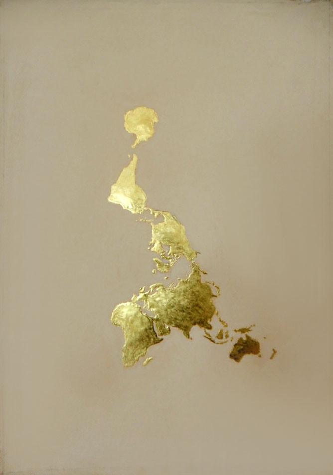 Dymaxion Map III, 'Continents'