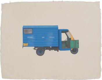 Pondi, the Tamil truck.