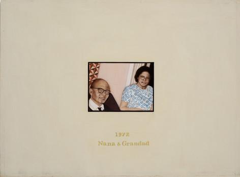 Nana & Grandad 1972.