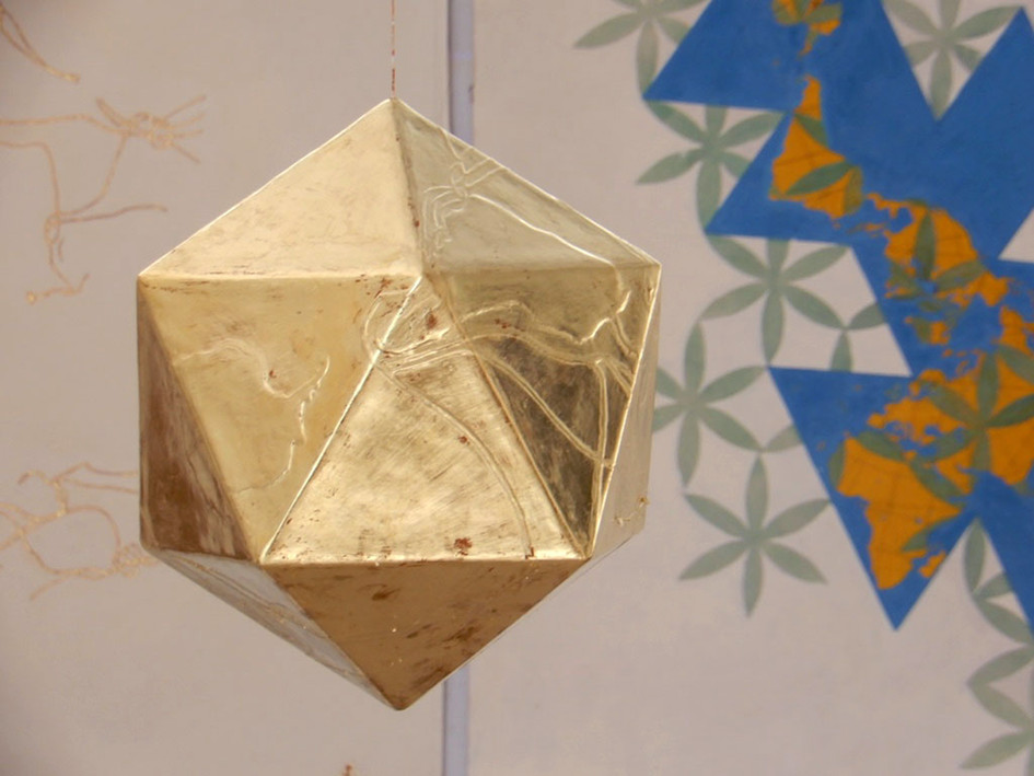 Icosahedron - The Dymaxion Map