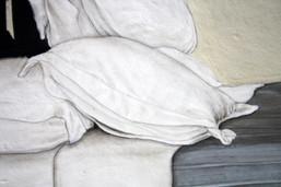 Chettinad bed, detail I.