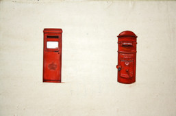 Ten objects or more - Post boxes Scotland-Pondicherry.