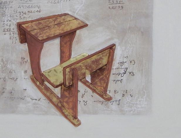 Principia III - detail of the work.