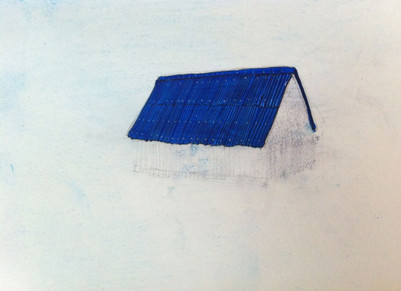 Blue house project - Sketch I