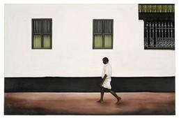 Walking Past a Chettinad Palace.