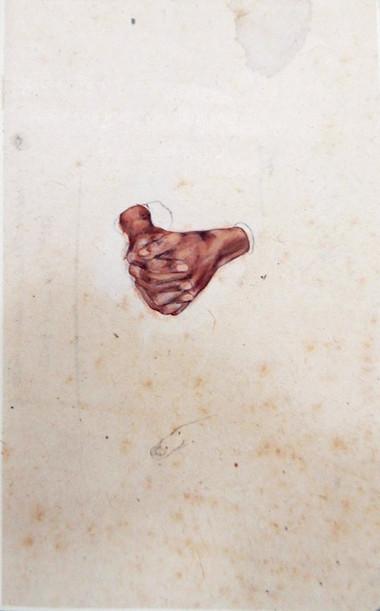 Folded Hands Study - Classroon II