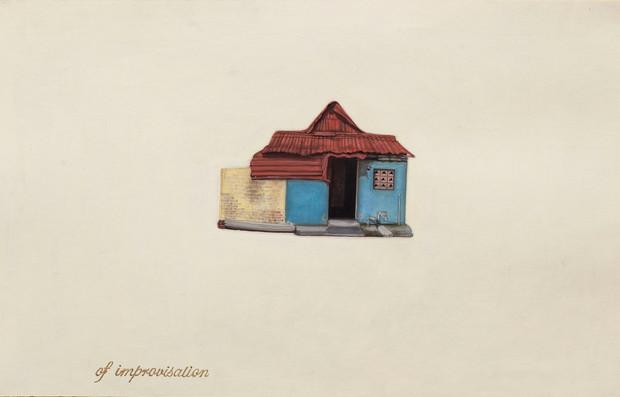 On improvisations (7) - Floating Worlds - Gated Community