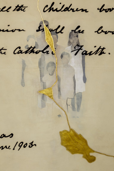 The Declaration - detail III.
