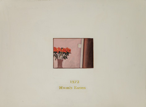 Mum's roses 1973