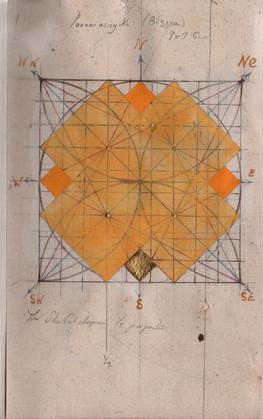Star Cut Diagram & Vastu Purusha Mandala II