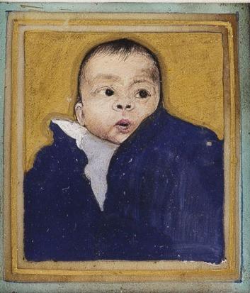 Emile's portrait.