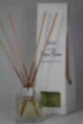 TabeScent Luxury Reed Diffuser with Prosecco Mimosa Intoxicating Cocktail Fragrance