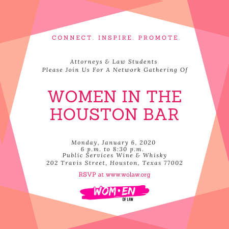 Connect With Women In The Houston Bar