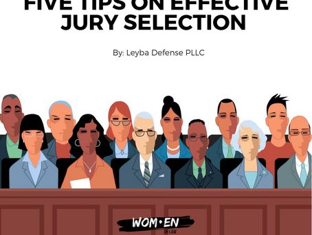 5 Tips on Effective Jury Selection