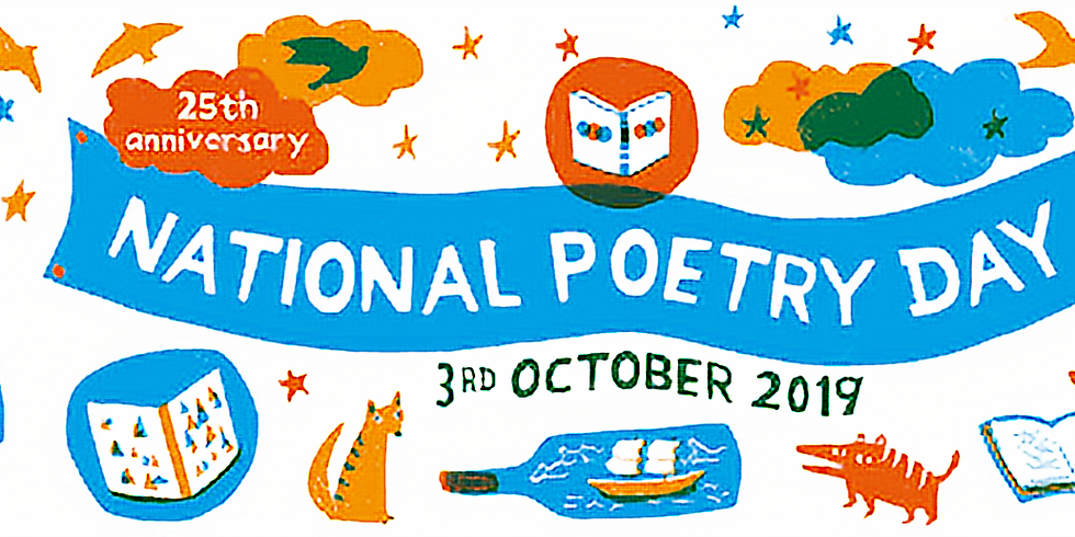 National Poetry Day Masterclass at MidKent College