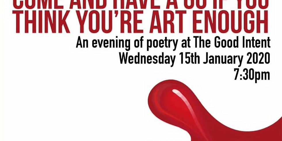 Mind Out Medway presents: Come and Have a Go if You Think You're Art Enough