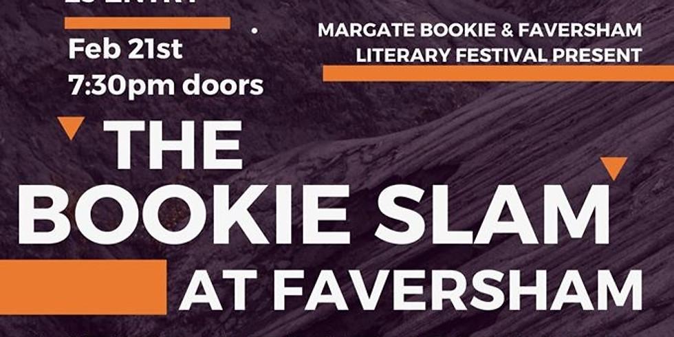 The Bookie Slam at Faversham Literary Festival 2