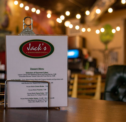 Jack's Wood Fired Oven is the perfect place to relax, have  delicious meal, and enjoy some live music.