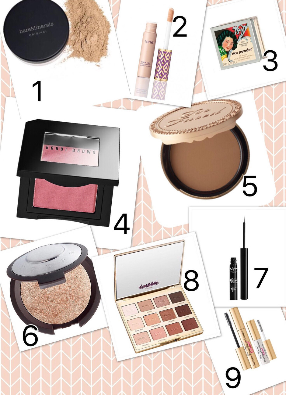 My All Time Favorite Makeup Products