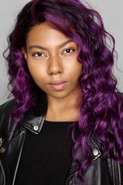 Asha Etchison_Purple Wig Headshot 1