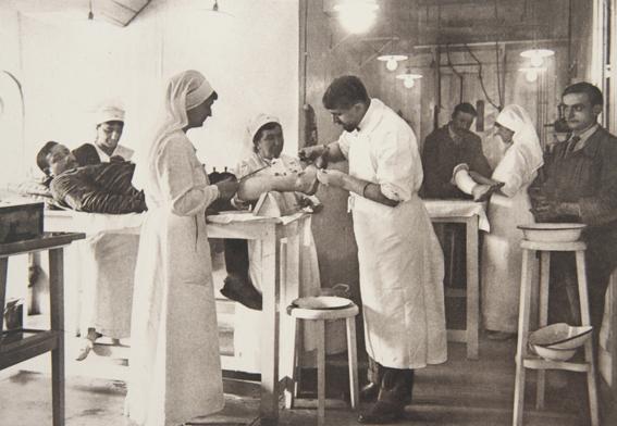 Hôpital Auxiliaire N°29 Intervention