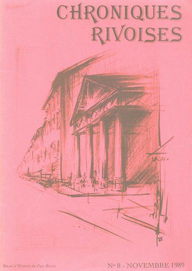 Revue N° 08 novembre 1989