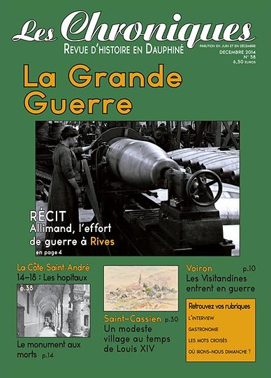 Revue N° 58 décembre 2014
